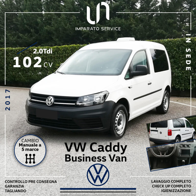 Volkswagen Caddy 2.0 TDI 102Cv/75Kw Business Van