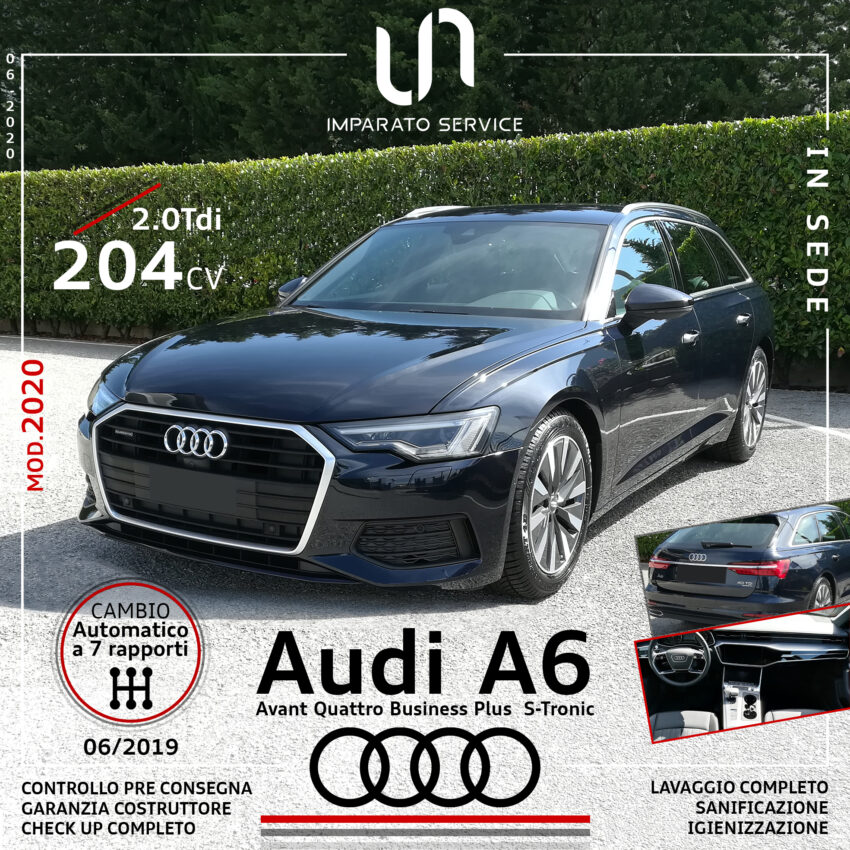 Audi A6 Avant 2.0 TDI 204Cv/150Kw Quattro Business Plus S-Tronic