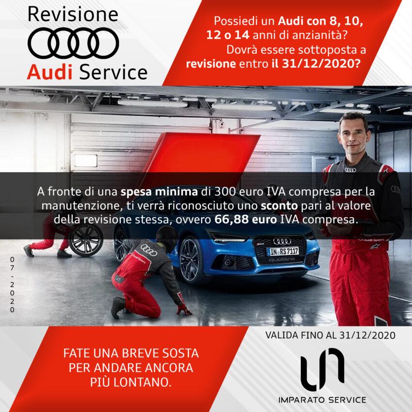 Revisioni Audi service