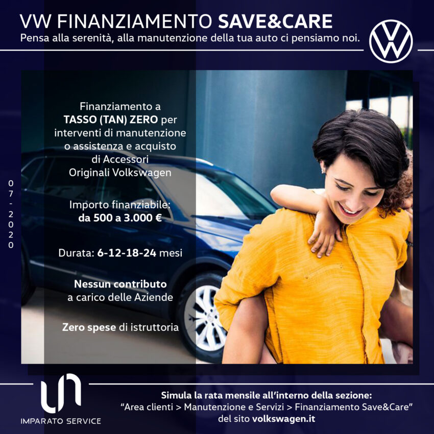 VW Finanziamento Save & Care