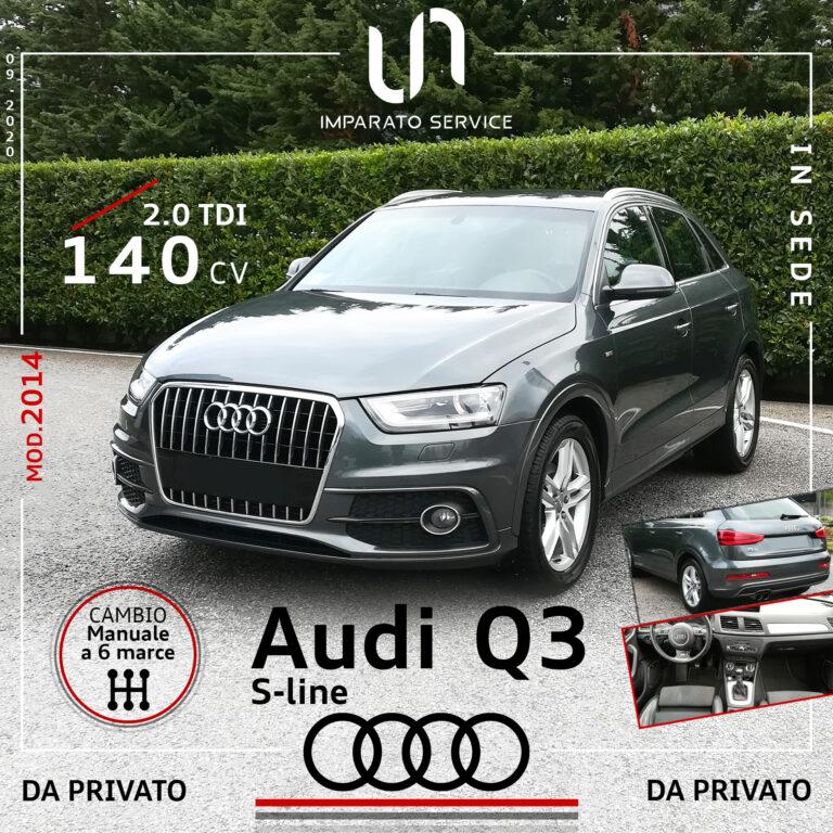 Audi Q3 2.0 TDI 140CV/103Kw S-line