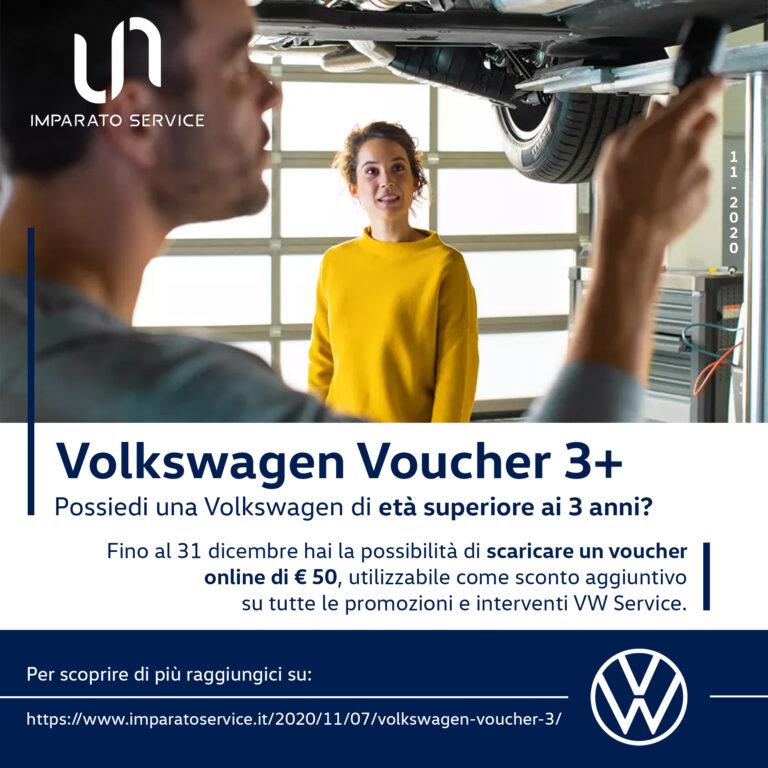 Volkswagen voucher 3+