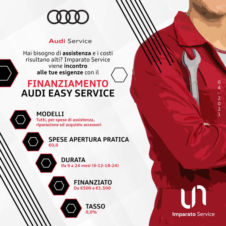 Finanziamento Audi Easy Service