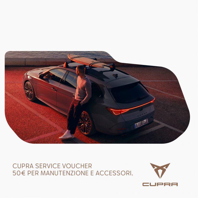 CUPRA Service Voucher